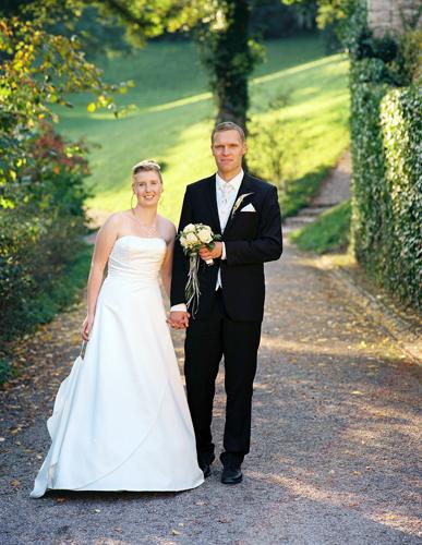 Brautpaar auf Schloss Ettersberg bei Weimar